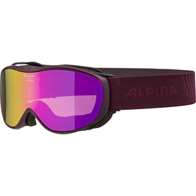 Alpina Challenge 2.0 Multimirror S2 Lunettes de protection, cassis/pink